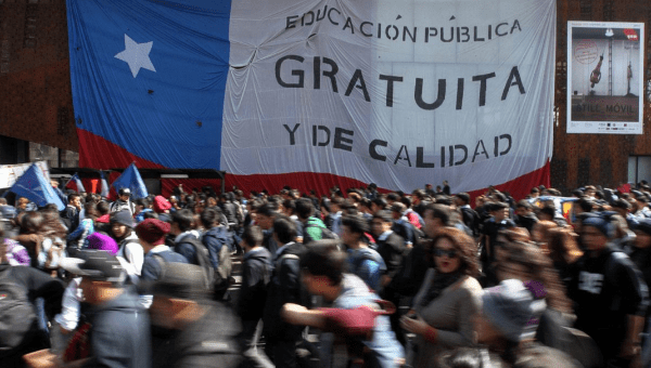 The government of Michelle Bachelet finally granted the students