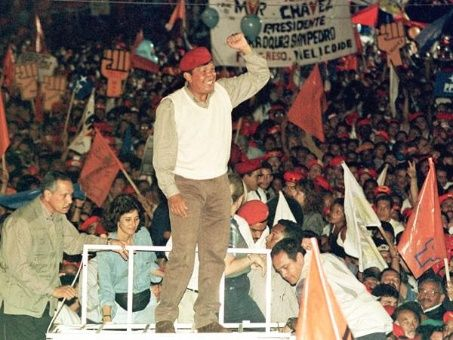 Resultado de imagen para chavez elecciones 1998