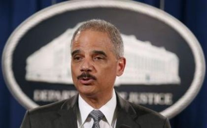 U.S. Attorney General Eric Holder. (Photo:Reuters)