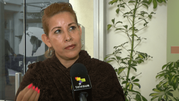 Mirella Velez, the mother of a disappeared