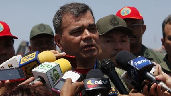 Defense Minister Vladimir Padrino Lopez said the fight against illegal miners isn