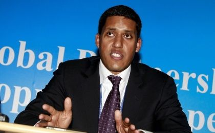 USAID Administrator Rajiv Shah announces he is resigning from the controversial agency after five years in the post. Achive photo.