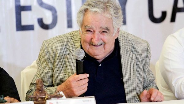The President of Uruguay, Jose Mujica, will end his mandate next year
