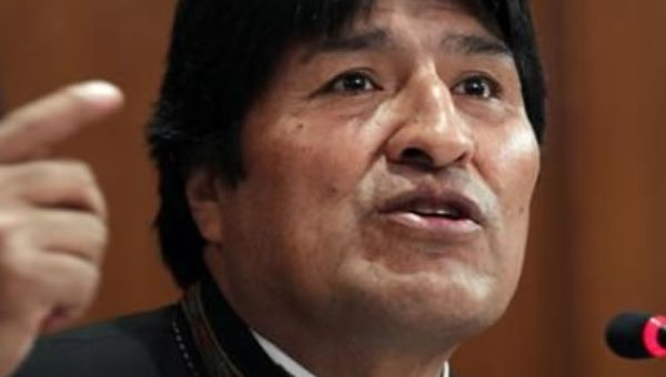 The President of Bolivia, Evo Morales, started his political career as a coca leaf grower.