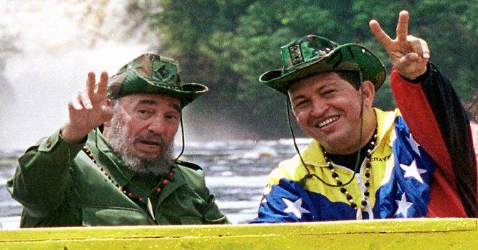 Fidel y Chávez, dos gigantes por la segunda Independencia.