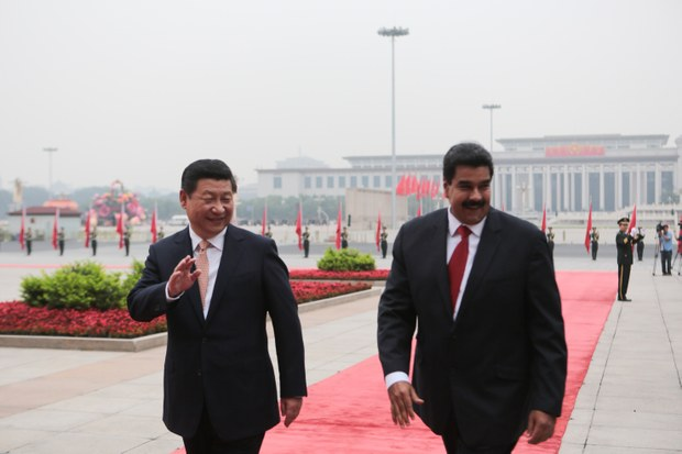 China ratificó su voluntad de estrechar relaciones con Venezuela.