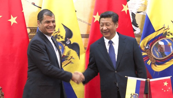 "Ecuador and China have deemed their relationship ""strategic"""