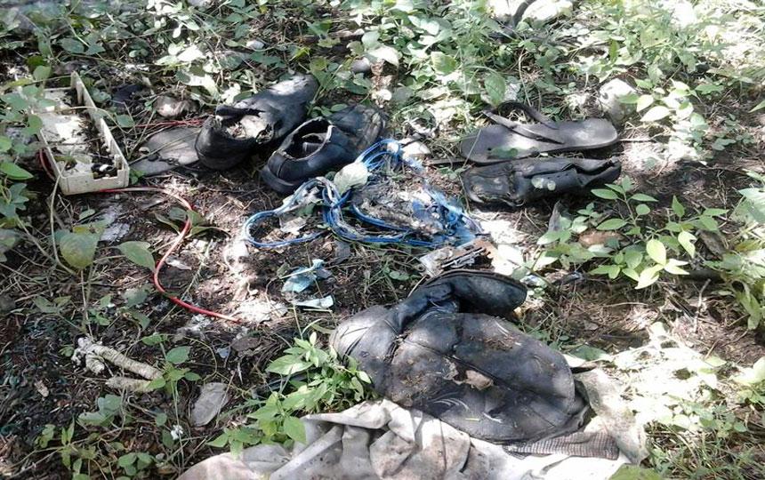Caso ayotzinapa investigan restos seos en vertedero de - Restos de zapatos ...