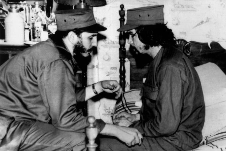 Fidel Castro and Che Guevara in 1959, the year Cuban revolutionaries succeeded in overthrowing U.S.-backed dictator Fulgencio Batista.