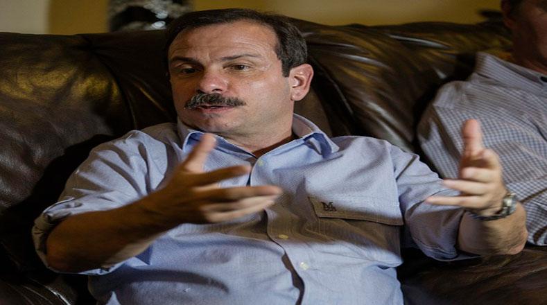 El antiterrorista Fernando González también participó en el encuentro.