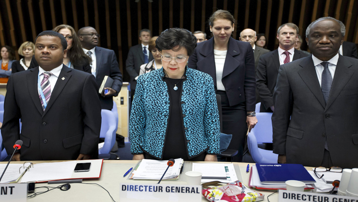 La directora general de la OMS, Margaret Chan, indicó que el actual brote de ébola está retrocediendo en África Occidental.