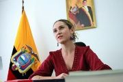 Cecilia Vaca is Ecuador's Coordinating Minister for Social Development.