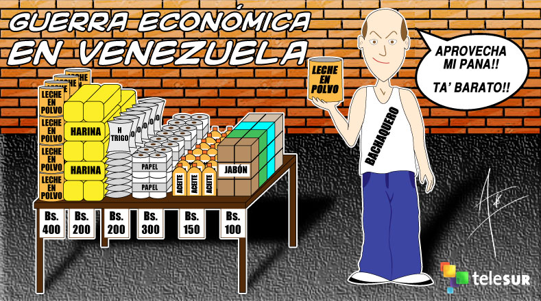 Risultati immagini per bachaqueo en venezuela