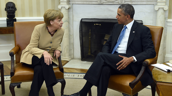 Obama y Merkel hablarán en Washington este lunes.