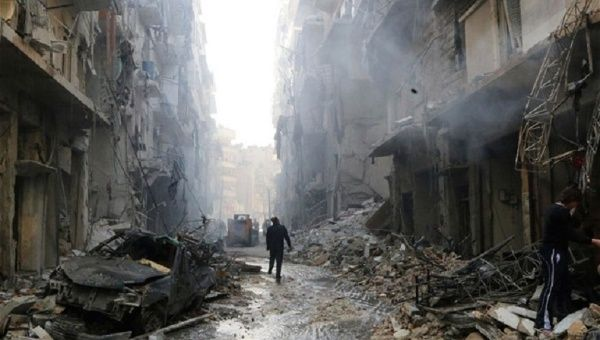 The great and glorious city of Aleppo, one of the oldest beacons of human civilisation, is gradually being destroyed.
