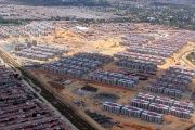 Aerial picture of the the newly-inaugurated Hugo Chavez Socialist City.