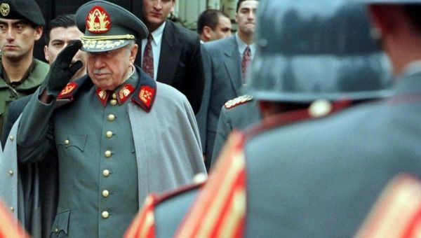 Chilean General Augusto Pinochet, one of the region