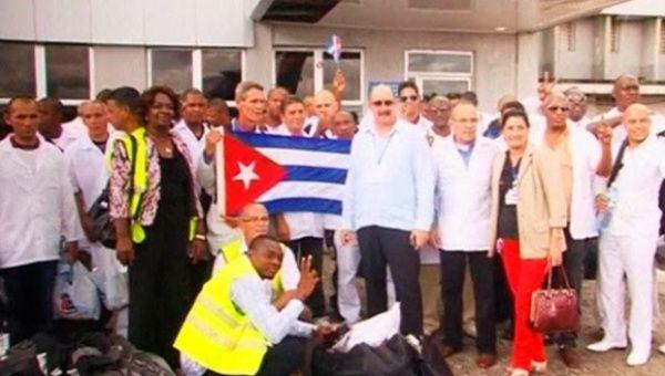 A Cuban Medical Brigade