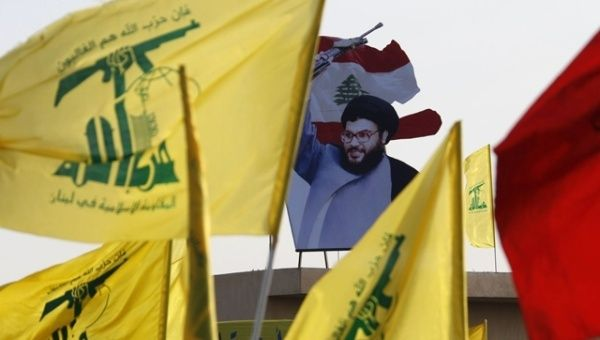 Hezbollah announced it will fight those providing arms to the Islamic State group.