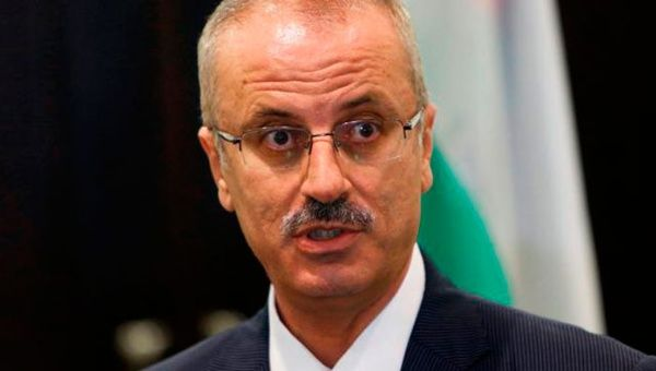 El primer ministro palestino, Rami Hamdala, rechazó la decisión de la corte neoyorquina