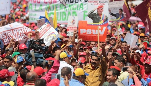 Venezuelan President Nicholas Maduro participated in a workers
