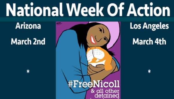 #freeNicoll national week of action.