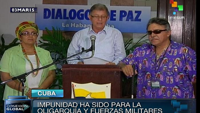 FARC pide desclasificar información para esclarecer la verdad