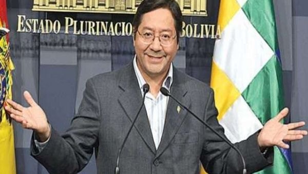Bolivian Finance Minister Luis Arce announces that the Bank of South is ready for operations.