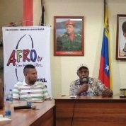 Danny Glover speaks at Venezuela
