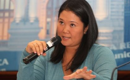 Keiko Fujimori, leader of Social Force acussed of corruption