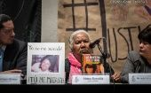 Irinea Buendia calls her daughter's death a case of femicide and not suicide.