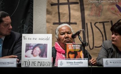 Irinea Buendia has demanded justice for 5 years in the death of her daughter, Mariana Buendia.