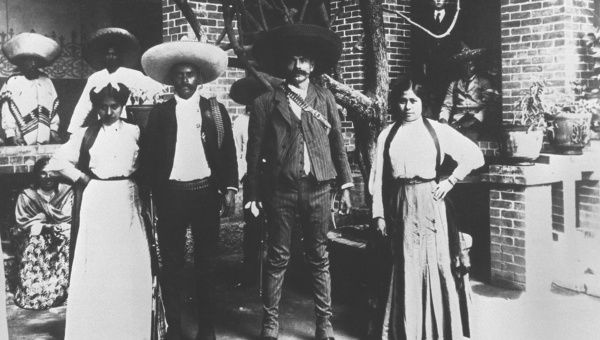 Mexican revolutionary Emiliano Zapata