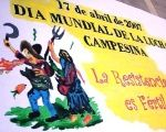 Int'l Day of Peasant Struggle Held for Food and Worker Rights