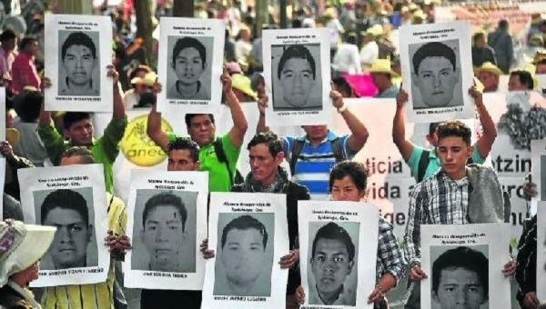 Six months later, Ayotzinapa protests continue demanding the students be found alive and President Enrique Peña Nieto