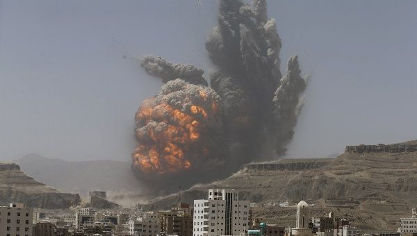 Saudi Arabia has been bombing Yemen for around a month.