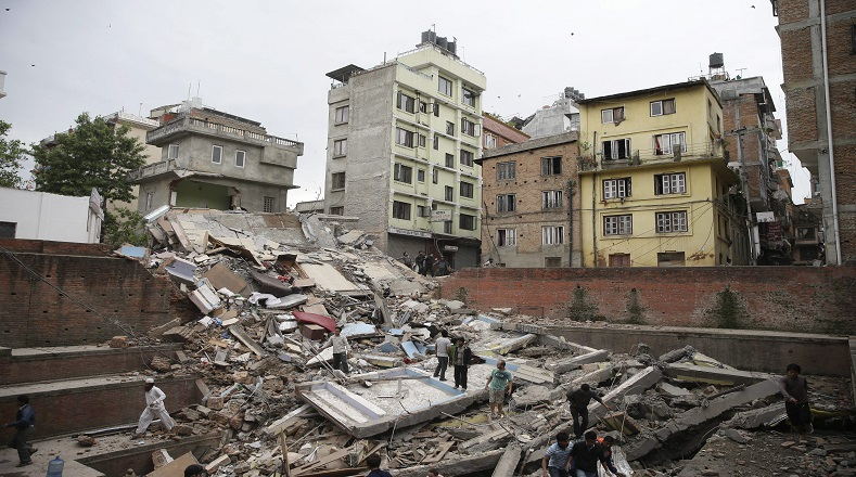 Multimillonarias pérdidas en Nepal por sismo de abril
