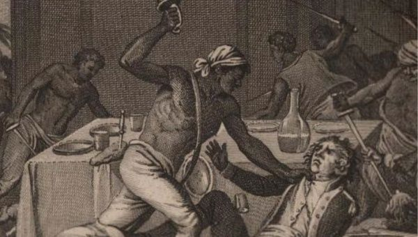"Taken from the cover image on Gerald Horne's ""The Counter-Revolution of 1776: Slave Resistance and the Origins of the United States of America."""