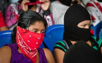 Members of the Zapatista Support Base