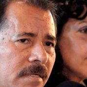 Daniel Ortega (L) and his wife Rosario Murillo (R) have both faced attacks from the media.