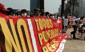 Demonstration against the TPP