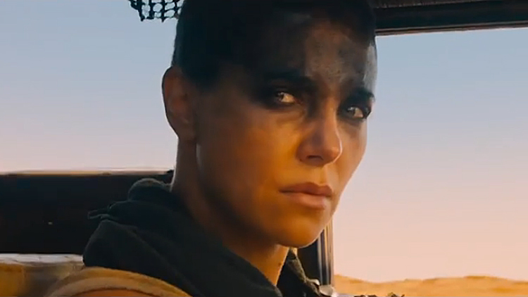 Charlize Theron en 'Mad Max: Fury Road'.