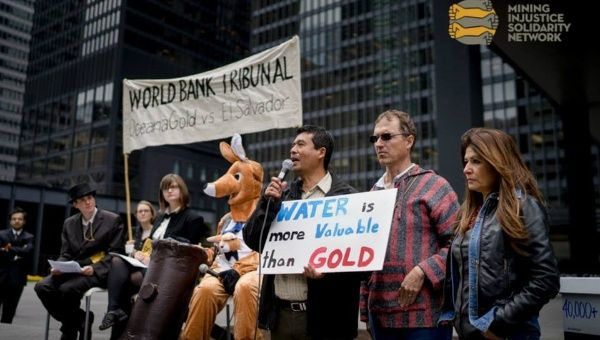 Protesters denounce OceanaGold