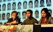 Family members and classmates of the 43 forcibly disappeared Ayotzinapa students traveled to the U.S. and will now go to South America demanding justice under the banner Caravan 43.