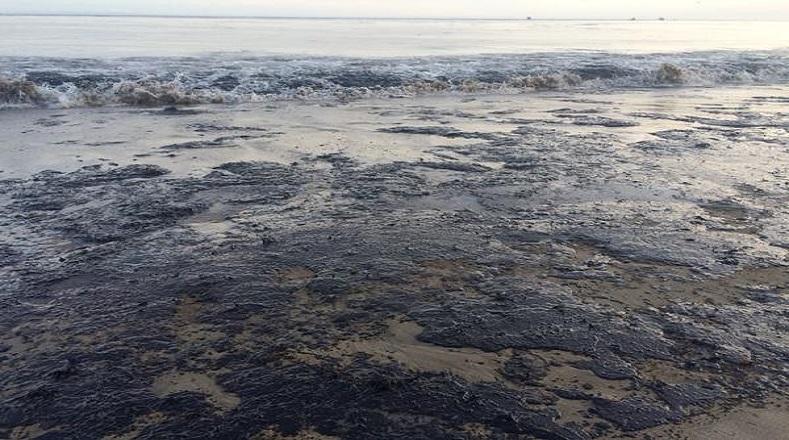 La contaminación de las costas californianas se hizo notar a solo minutos del derrame de crudo.