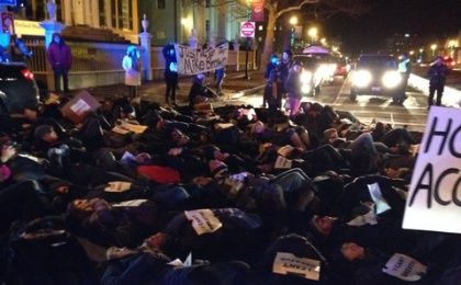 Portland Racial Justice Congress Die-In in Maine
