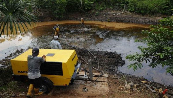 The damage to the Ecuadorean Amazon from the alleged Chevron dumping has been extensive.