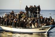 Humanitarian groups say the unrest in Libya has exacerbated the Mediterranean's refugee crisis.
