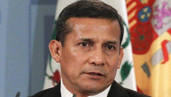 Ollanta Humala approval rating