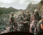 Soldiers of the ROK 9th Infantry Division in Vietnam.
